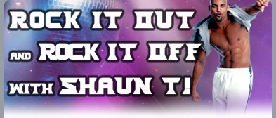 Rock It Out and Rock It Off with Shaun T!