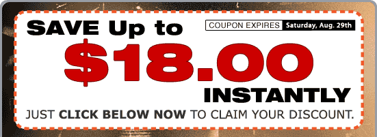 Save Up to $18.00 Instantly