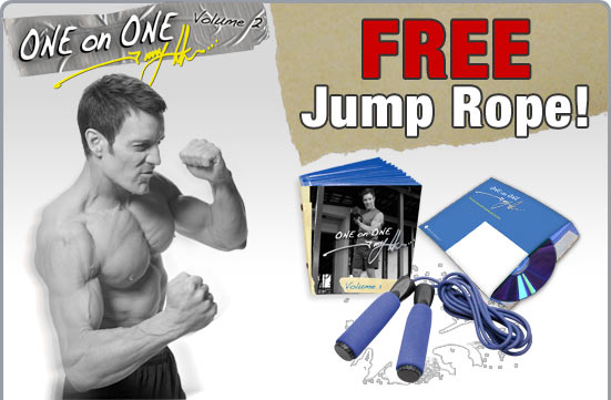 One on One with Tony Horton, Volume 2&mdash;FREE Jump Rope!