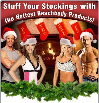 Stuff Your Stockings with the Hottest Beachbody Products!