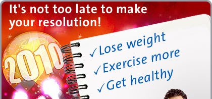 It's Not Too Late to Make Your Resolution!!