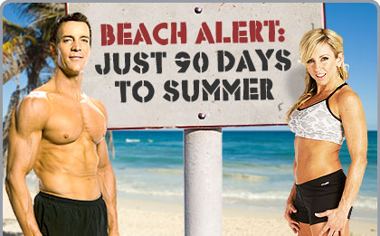 Beach Alert: Just 90 Days to Summer