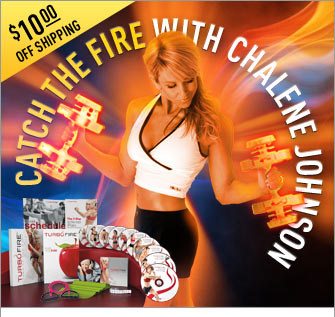 CATCH THE FIRE WITH CHALENE JOHNSON—$10.00 OFF SHIPPING