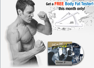 One on One with Tony Horton—Get a FREE Body Fat Tester!—this month only!