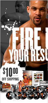 FIRE UP YOUR RESULTS!—INSANITY®—$10.00 OFF SHIPPING