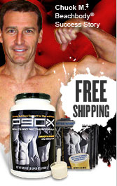 Chuck M. Beachbody Success Story—FREE SHIPPING! P90X® Results and Recovery Formula®
