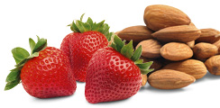 Strawberries and Almonds