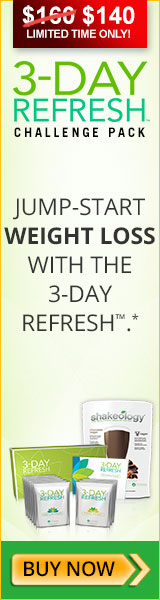 3 DAY REFRESH CHALLENGE PACK: JUMP START WEIGHT LOSS WITH THE 3-DAY REFRESH