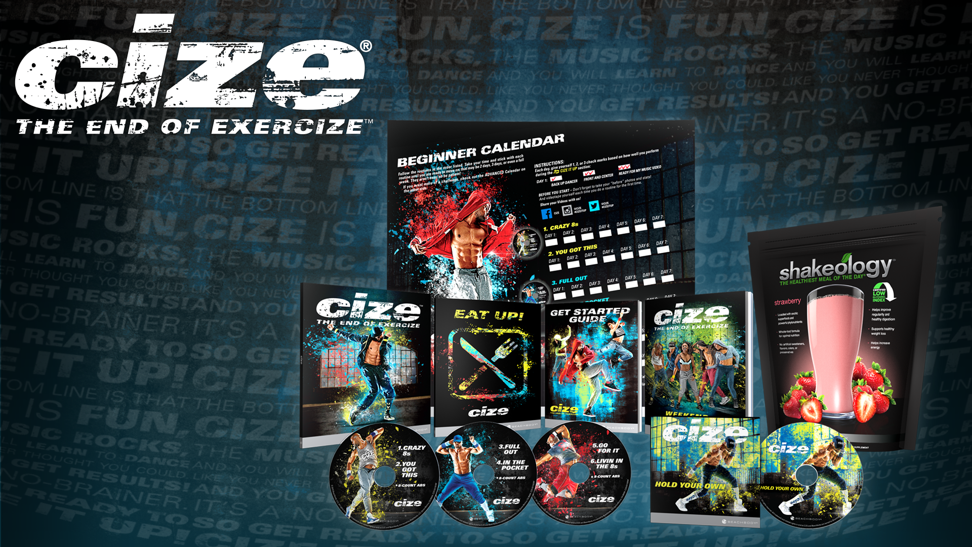 CIZE IS NOW AVAILABLE