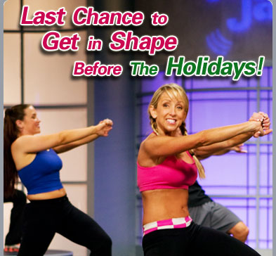 Last Chance to Get in Shape Before The Holidays!