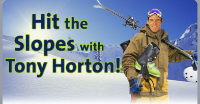 Hit the Slopes with Tony Horton!