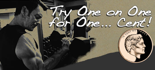 Try One on One for One . . . Cent