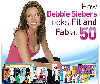 How Debbie Siebers Looks Fit and Fab at 50