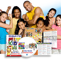 Shaun T's Fit Kids® DVD