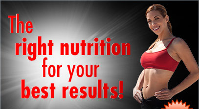 The right nutrition for your best results!